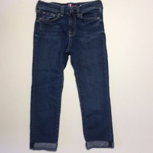 7 for all Mankind Girls Cropped Jeans